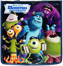 Disney Store MONSTERS UNIVERSITY Ecology Reusable Shopping Bag Tote w/Pocket,Tag