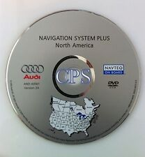 2005 2006 2007 AUDI A3 A4 S4 RS4 QUATTRO AVANT RNS-E NAVIGATION MAP DISC CD DVD
