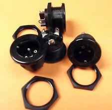 Plug 3 Pin P429 Bulgin Vintage Panel For QUAD & RACAL Mullard - x 1pc Offers