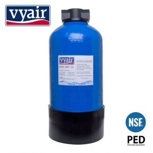 DI Resin Vessel 11L For Window Cleaning 0817 & Hozelock Fittings Filled MB-115