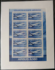 2006 Airbus A380 Mini-feuille PA F69a sous blister