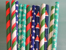 Christmas Straw Party Tableware