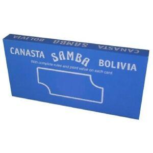 PLAYING CARDS – CANASTA, SAMBA, BOLIVIA – ROYAL