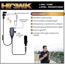 HAWK QR Police Lapel Mic Earpiece for Motorola Saber 1 2 3 I II III / Astro