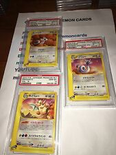 Pokémon Cards Japanese T Trainer Promo Vol.19 Dragonite Dratini Dragonair Psa 10