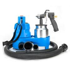 650W 110V Electric Spray Gun Paint Sprayer Painter Painting House Hand Held Blue