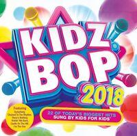 Kidzbop - Kidz Bop 2018  ** NEW CD **   22 Hits Sung by Kids for kids