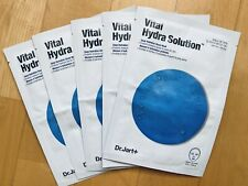 (5) Dr. Jart+ Dermask Vital Hydra Solution™ Deep Hydration Sheet Lace Mask LOT