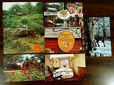 PARKER'S SUGAR HOUSE & PICKITY PLACE MASON NH 7 Postcards lot 1960s-80s