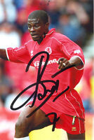 George Boateng, Middlesbrough, Holland, signed 6x4 photo. COA.
