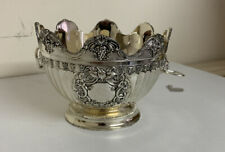 Antique Style Silver Plated Bonbon Dish Boxed