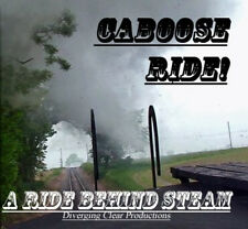 Train Sound CD: Riding on a caboose behind steam - Perfect to fall asleep too!
