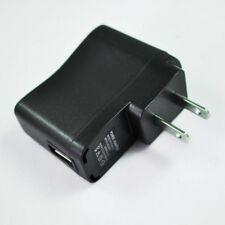 AC110V-240V to DC 5V 500mA USB to 2 Pin USA Plug Power Adapter Charger Top