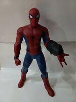 "HUGE 2017 Marvel SPIDER-MAN Homecoming Super Sense 24"" Interactive Action Figure"