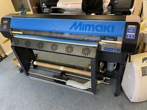 Mimaki Jv3-Sp11 solvent printer spares or repairs holds 1370mm media like Roland
