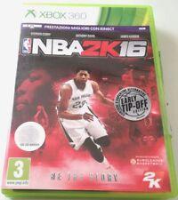 NBA 2K16 2016 GIOCO XBOX 360 ITALIANO BUONO SPED GRATIS SU + ACQUISTI!!