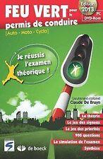 Feu vert 2013 (CD-ROM) von De Bruyn | Buch | Zustand gut
