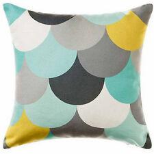 Multicolor Teal Gray Polka Dot Pillow Case Decor Throw Pillowcase Cushion Cover