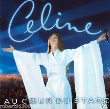 CD audio ../...CELINE DION.../...AU COEUR DU STADE.....