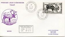 FDC / T.A.A.F. TERRES AUSTRALES TIMBRE  N° 123 / FAUNE /