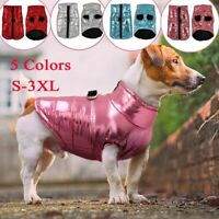 Warm Small Pet Dog Harness Vest Waterproof Puppy Medium Dog Coat Jacket Apparel