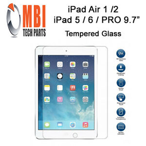 For iPad Pro 9.7 iPad 5 6  iPad Air 1 2 9H Tempered Glass Screen Protector
