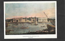 C1980's View of the Painting 'Royal Hospital at Greenwich' By Canaletto
