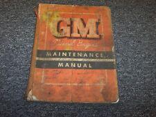 1956 GMC Series 71 Diesel Models 1-71 2-71 3-71 Service Maintenance Manual Book