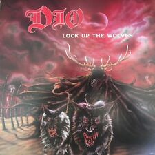 """DIO LOCK UP THE WOLVES 1990 PROMO POSTER FLAT 12""""X12"""" ALBUM ART IN MINT"""