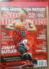 Jimmy Butler - Chicago Bulls Sports Illustrated 2/23/2015 issue autographed