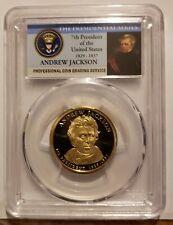 2008-S Andrew Jackson Presidential Dollar PCGS PR70 DCAM