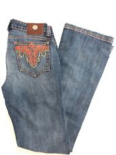 NWT Women's ANTIK DENIM slim Boot-Cut embroidered back pocket JEANS SZ: 24-32