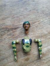 New listing Gi Joe 1982 Stalker Ranger Action Figure Body Parts-Torso-Arms-Head