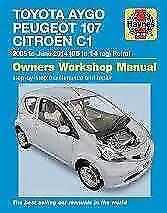 Manuali di assistenza e riparazione Aygo per l'auto per Toyota