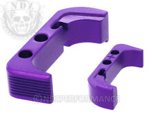 for Glock Gen 4 5 Mag Release Plus Purple Pick Lasered Image Available