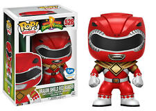 FUNKO POP MIGHTY MORPHIN POWER RANGERS DRAGON SHEILD RED RANGER FYE EXCLUSIVE