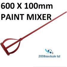 600 x 100 mm VERNICE Miscelatore Mescolare miscelazione paddle Piallatrice Trapano Attaccamento