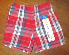 Baby Infant Boys Shorts Sz. 6 months 100% Cotton NWT Red/blue