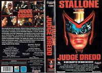 (VHS) Judge Dredd - Sylvester Stallone, Armand Assante, Rob Schneider (1995)