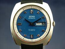 NOS Vintage Zeno Compressor Automatic Watch 1970s 25 Jewel Cal Bucherer ETA 2789