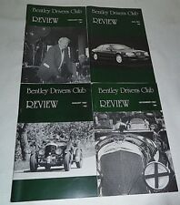 Bentley Drivers Club Review 1994, 4 Issues, 191 Feb, 192 May, 193 Aug, 194 Nov