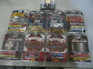 GREENLIGHT 2009 GREEN MACHINE 1968 CHEVELLE  SUPER CHASE LOT OF 9