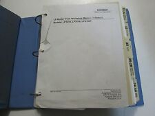 1987 Mercedes Truck Service Repair Shop Manual Volume 2 Factory OEM Book Used