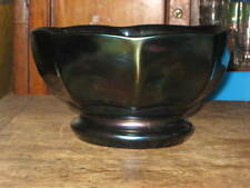 Czech/Bohemia Date-Lined Glass Bowls