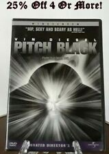 """Pitch Black: Unrated Director's Cut"" Vin Diesel-Ws(Dvd,2001)25% Off 4 Or More!"