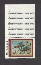 MT5ht - Montana  State Duck Stamp. Top Tab Hunter Type  Single. MNH. OG.