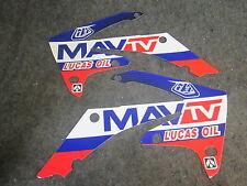 HONDA CRF250 2010-2013 CRF450 2009-12 TLD MAV TV RADIATORE Shroud GRAFICO gr1483