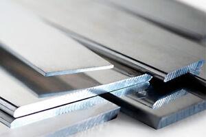 Barra piatta in acciaio inox AISI 304 TRAFILATO, 20x3 mm, lunghezza 100 cm