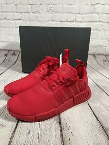 FV9017 Adidas Men's Originals NMD_R1 Scarlet NEW Triple Red Rare Size 10