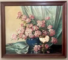 Listed Artist  A D Greer  Oil Painting Early Still Life